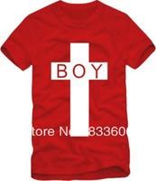 Men Women BOY LONDON cross Tide brand bigbang same paragraph cotton short-sleeved T-shirt ,hip-hop T-shirt