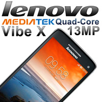Original Lenovo Vibe X S960 Android Phone Quad Core MediaTek 6589T 1.5Ghz CPU+2G RAM+16G ROM+5' IPS+15MP+5MP Camera+6.9mm Thin