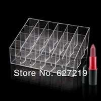 Lipstick Organizer Nail Polish Makeup Case Cosmetic Stand Display Rack Holder