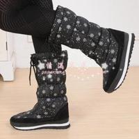 Free shipping 2014 snow boots vivi waterproof women's slip-resistant winter boots