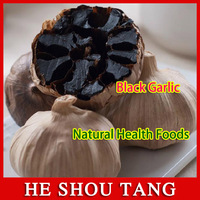 Black garlic Anti-cance health care product Hypertension Constipation Diabetes Improve immunity anticancer&antiaging 4PCS