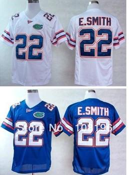 Free Shipping 2013 Florida Gators E.Smith 22  College Football Jerseys size M~XXXL ,Mix Order,