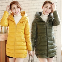 2013 Winter new Korean Slim thin pu leather hooded coat thick cotton jacket large size women