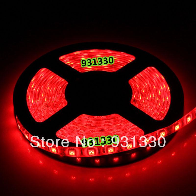 Free Shipping 20M 4*5M/roll DC 24V 5050 SMD 300LED 60Leds/M LED Stirp Light Epoxy Waterproof For Car(China (Mainland))