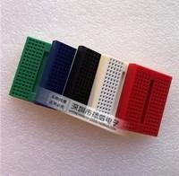wholesale 10pcs/lot SYB-170 Mini Solderless Prototype Experiment Test Breadboard 170 Tie-points 35*47*8.5mm
