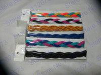 Knit Braided Headband colored headwrap Headband Fitband hair,NEW Braided Hair Bands Head Style Sweaty Headband Non Slip Sports