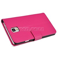 Lychee Leather Flip Wallet Case Cover for Samsung Galaxy Note 3 N9002 N9000, w/ Card Slots and Stand FreeShipping