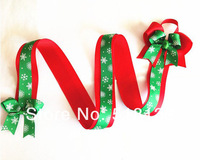 2013 Christmas New Style 50pcs/lot Baby Girls Hair Bow Holder 36'' Flowers Hair Pieces Hair Clips Accessories for Kids Toddler