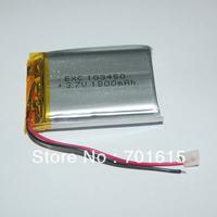 Wholesale 1800mAH 103450 high capacity rechargeable li-polymer battery 1800mAH 10*34*50mm, 100pcs/lot