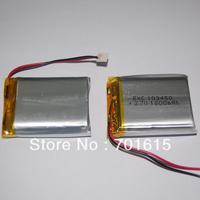 Wholesale 1800mAH 103450 high capacity rechargeable li-polymer battery 1800mAH 10*34*50mm, 200pcs/lot