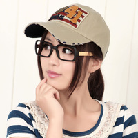 Baseball cap women's autumn and winter lovers male hiphop cap skull
