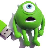 New Green Doll USB 2.0 Memory Stick  Flash Pen  Drive Rare Colleted  2gb 4gb 8gb 16gb 32gb