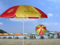 advertising 1.8m beach and sun umbrella