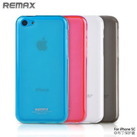 Original Authentic Remax TPU Ultra-thin Crystal Case Cover for iphone 5C, Hot Selling Case, Fast Delivery, Free Shipping
