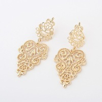 Min. Order $15 (Mix Designs)Free Shipping Factory Outlet Bohemia Hollow Out Women Drop Earrings,E106