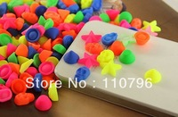 200pcs/lot New arrive! Fluorescent color rivet punk jewelry accessories for iphone5C/5s mobile phone decoration Free shipping