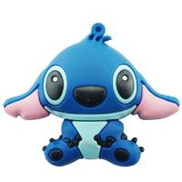 Cartoon Stitch model USB 2.0 Full Memory Stick Flash pen Drive 2G/4G/8G/16G/32G