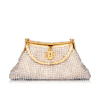 2013 class A czech rhinestone crystal clutch bag purse lady ladies evening party handbag wristlet RC002