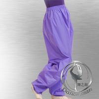Oxygenair32 Slimming pants weight clothing sweating  sauna suit aerobics pants purple weight loss trousers women's dance sport
