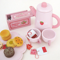 Free Shipping Mothergarden children toy play toy kitchen utensils and afternoon tea every toy