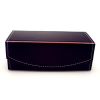 Glasses box myopia plain mirror radiation-resistant pc mirror glasses box folding quality