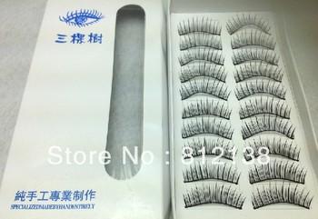 wholesale Free shipping 10pair per box Eye lash , 5box /lot Hot Sell Products