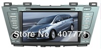 "Free shipping!! 8"" android4.0, 2 din 3G wifi Car DVD GPS special for MAZDA 5/Premacy 2010-"