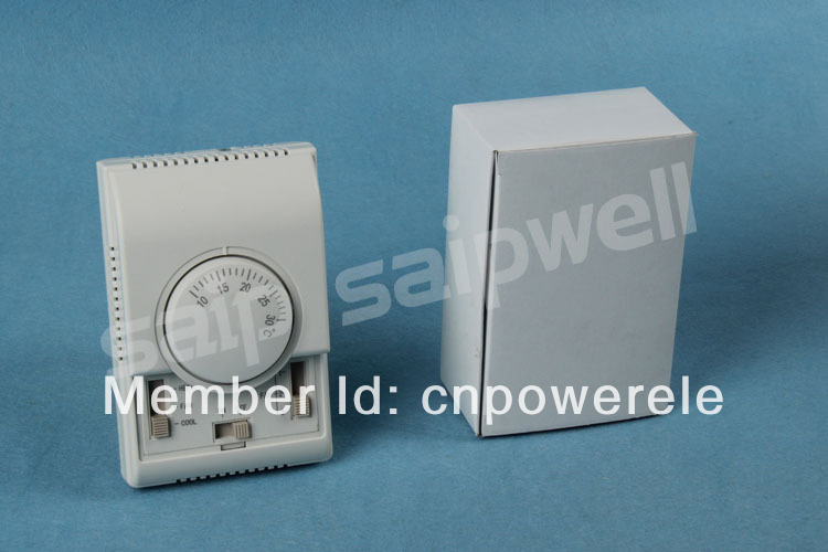 Temperature fan speed Control Floor Heating System Saipwell SP-1000 house room Mechanical thermostat central Air-condition(China (Mainland))