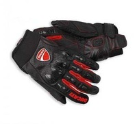 New authentic Ducati leather racing gloves motorcycle riding gloves free shipping