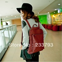 2013 spring and summer brief female preppy style casual backpack school bag vintage girls backpack travel bag