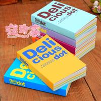 Thickening ann korea stationery dot diary fresh notepad diary