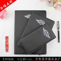 Stationery notepad diary notebook thin notebook loose-leaf folder leather stationery
