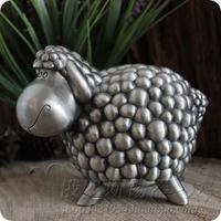 Tinwares money box crafts tin piggy bank piggy bank sheep Large Small ELS012
