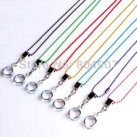 Free SG Post Shipping 2014 New Arrival Hiqh Quality Multi-color eGo necklace Nice EGO-T Metal Lanyard 10PCS/LOT