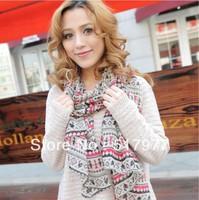 2013 NEW! Fashion girl neckerchief Chiffon city scarf scarves !Free shipping!