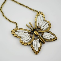 Christmas : fashion butterfly 1212 necklace w338