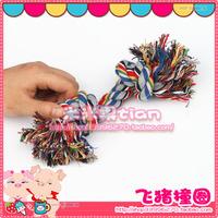 free shipping 68 bo pet dog carrick-bend cotton rope toy 19 quipu 10 1.7
