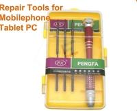 Wholesale Multi-Purpose Precision Screwdriver Repair Tools Set for Apple Computer For iPhone Samsung BlackBerry etc   2pcs/lot