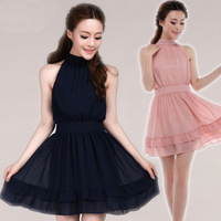 New arrival 2013 summer evening dress fashion sexy strapless chiffon one-piece dress young girl evening dress skirt princess