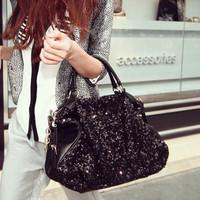 2013 sale! fashion Sequins leopard leather handbags women bags sexy handbag retro bolsas gum totes colcci items