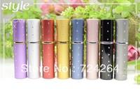 wholesale 5ML spray bottle refillable perfume bottle  perfume atomizer Glass container  Vaporizer bottle 10pcs/lot 02525A