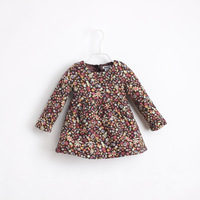 wholesale child cotton-padded small doll cotton dress children's clothing winter dress