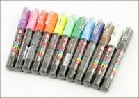 UNI POSCA PC-1M markers set 0.7mm,12 colors/set