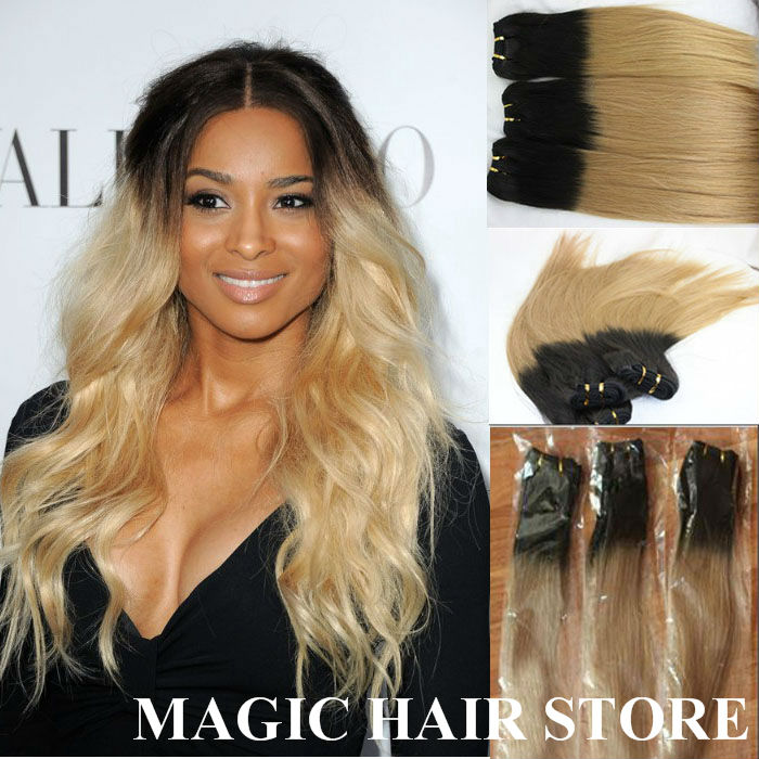 Mixed Blonde Extensions 61