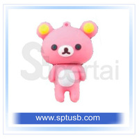 Genuine novelty cartoon mini usb flash drive 1gb 2gb 4gb 8gb 16gb +free shipping.