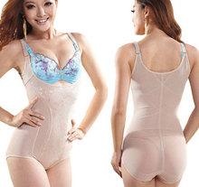 New Womens Tummy Control Underbust Slimming Shapewear Body Shaper Vest Suit(China (Mainland))