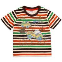 2014 Sale Spiderman Frozen Free Shipping !2013 Nova New 1pc Children Wear Baby Boy Clothing O-neck Striped Sleeve Cotton T-shirt