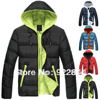 2013 Winter New Arrival Men Parkas Coats OuterWear Jacket Men Fashion Clothes  S,M,L,XL,XXL,XXXL