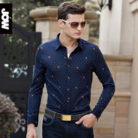 Men's clothing 2013 male long-sleeve shirts business casual shirt