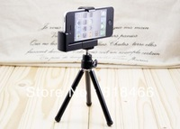 free shipping Tripod Stand Holder Bracket Holder for Camera Mobile Phone Cellphone phone holder